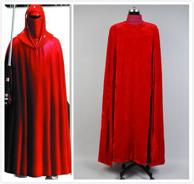 Star Wars:Revenge Sith Emperor Royal Guard Robe Cloak Cosplay Costume Outfit - Sith Outfit