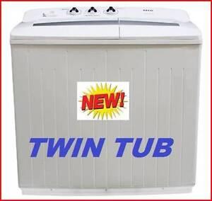 NEW Twin Tub Washing Machine 10KG. BUY $495 OR RENT TO KEEP. Brisbane City Brisbane North West Preview