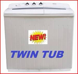 New Twin Tub Washing Machine 10 Kilo. Rent To Keep Option. Logan Area Preview