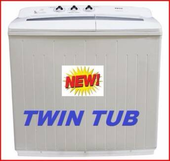 New Twin Tub Washing Machine 10 Kilo. Rent To Keep Option.