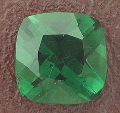 10mm Square Cushion Green Quartz Gem Stone Gemstone
