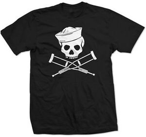 Jackass-Sailor-T-Shirt-Logo-Navy-Shirt-Knoxville-Viva-Bam-Steve-O-Ryan-Dunn