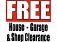 Free garage and house clearence