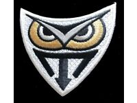 Blade Runner Tyrell Corp Owl Iron-On Patch