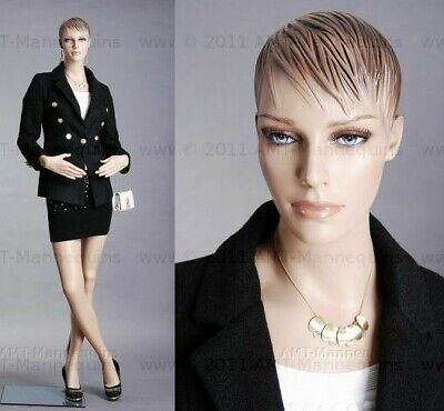 Female Mannequin Realistic Full Body Manikin Base Hand Made Mannequin- Fh28