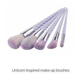 Mermaid and unicorn inspired brushes