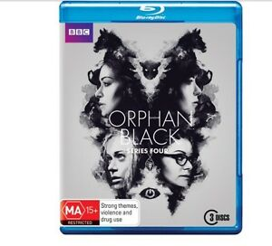 Orphan black series blu ray 1-4 Toronto Lake Macquarie Area Preview