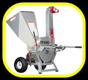 """Dosko 4"""" HONDA powered WOOD CHIPPER, top quality made in the USA"""