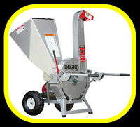 "NEW Dosko 4"" capacity WOOD CHIPPER, Honda 13hp powered"