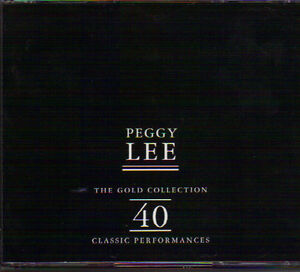 Peggy Lee - The Gold Collection - 40 Classic Performances (2 CDs West Island Greater Montréal image 1