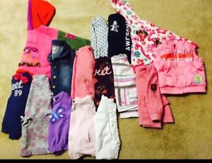 Size 3 Sweaters, Vests, Roxy & Great brands! All for $14!