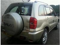 Toyota RAV4 2.0 d4d diesel full mot 4x3