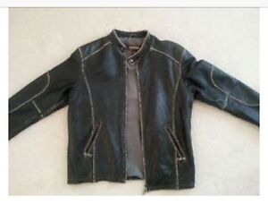 Danier Motorcycle style jacket. XL