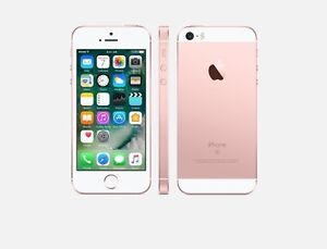 iPhone SE. 34 gig rose gold in box
