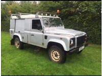 Land Rover 110 defender 2.4tdci puma 6 speed 08plate county pack no vat