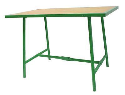 Mobile Werkbank Tisch (HAUCK Klappwerkbank Werktisch klappbar Werkbank mobil 1000x700x30mm grün Profi)