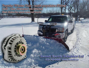 Snowplow upgrade Alternator - New