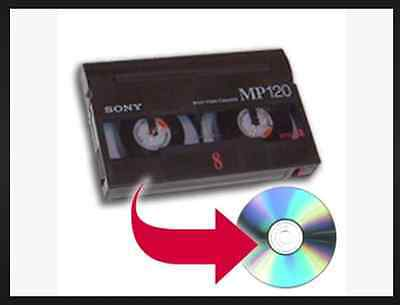 "Sony ""Handycam"" 8mm Tape to DVD Conversion"