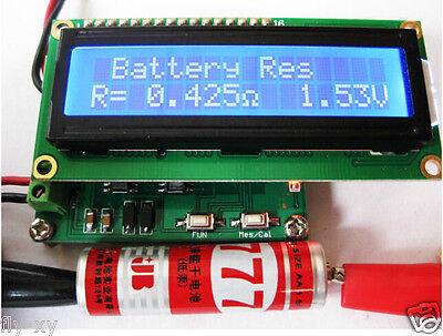 Battery Impedance Tester - Internal Battery Resistance Impedance Tester Voltmeter+ In-ciruit Cap ESR Meter