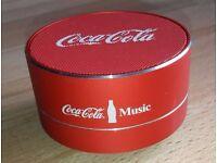 Aluminium Bluetooth Speaker Coca Cola