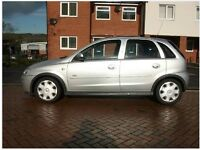 Vauxhuall Corsa Silver Fully Automatic 5 door compact and very reliable