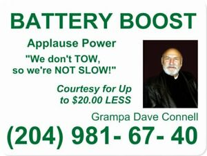 Need A Fast Applause Power Battery Boost Winnipeg Jump for Less?