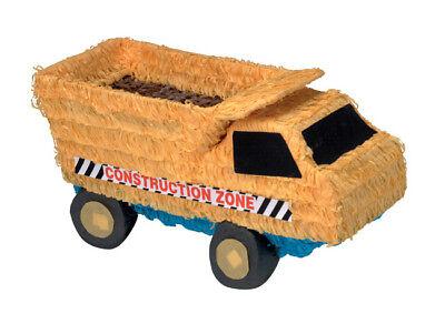 Dump Truck Pinata - Construction Themed Birthday Party Supplies - Dump Truck Pinata