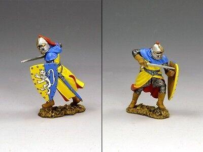 KING & COUNTRY MEDIEVAL KNIGHTS & SARACENS MK057 SIR ROGER DE TOLKINGHORN MIB