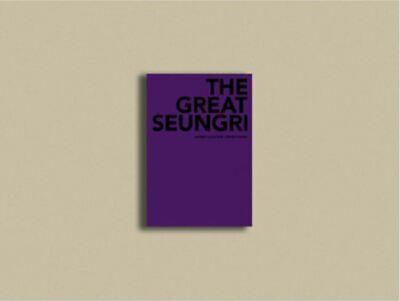 "K-POP BigBang SeungRi 2018 Concert ""The Great SR"" Official Limited Photobook"