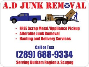 A.D JUNK REMOVAL & FREE SCRAP METAL PICKUP
