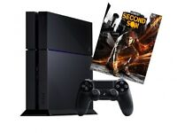 Ps4 with ltd Infamous second son
