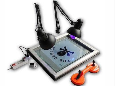 Uv Exposure Unit Screen Printing Plate Making Silk Screening Diy 20 X 24