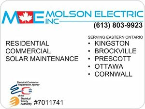 Residential and Commercial Electrical Services Cornwall Ontario image 1