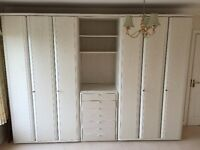 High quality german wardrobes and drawer unit