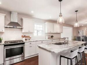 Summit style 10 x 10 wood kitchen - Financing available - $48 a month (OAC)
