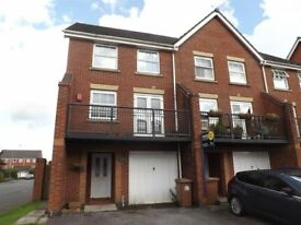 4 Bedroom End Terraced Town House for Rent