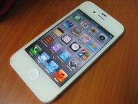 Mint Apple iPhone White 4S 32GB O2