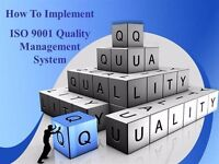 Quality Management Consultant - ISO 9001:2015 Transition, Certification & Maintenance