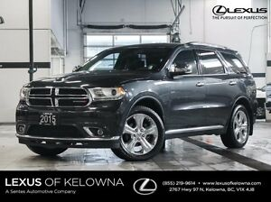 2015 Dodge Durango AWD Limited with Rear DVD
