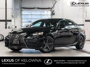 2014 Lexus IS 350 AWD F Sport Premium