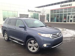 2013 Toyota Highlander Limited AWD Navi, B-Up Cam, Leather Heate