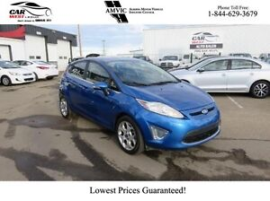 2011 Ford Fiesta w/ LEATHER, SUNROOF, LOW KMS!!