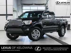 2013 Toyota Tacoma 4X4 Double Cab Limited with Navigation