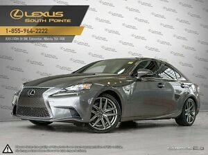 2015 Lexus IS 350 F SPORT series 3 All-wheel Drive (AWD)