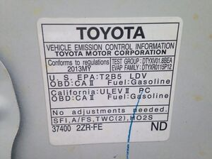 2013 Toyota Corolla CE 4dr Sedan Moonroof Package Edmonton Edmonton Area image 11