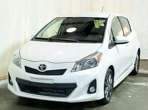 2013 Toyota Yaris SE Hatchback AT w/ Bluetooth, Alloy Wheels, Sp