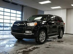 2013 Toyota 4Runner Limited, Navigation, Leather, Sunroof, Heate