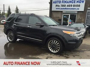 2013 Ford Explorer LOADED ALL OPTIONS 7 PASSENGER RENT TO OWN