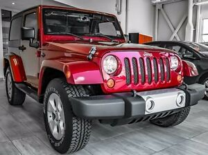 2013 Jeep Wrangler Sahara Edition, Two Tops, Alloy Rims, Bluetoo