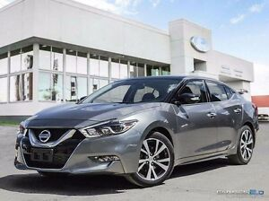2016 Nissan Maxima Leather, Roof, Nav, Adaptive cruise, LOADED